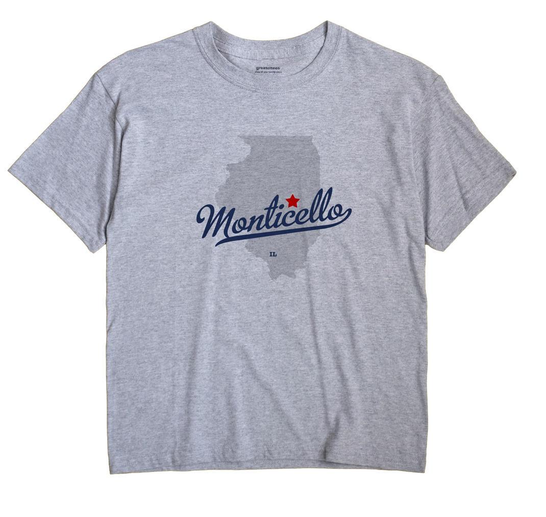 Monticello, Illinois IL Souvenir Shirt