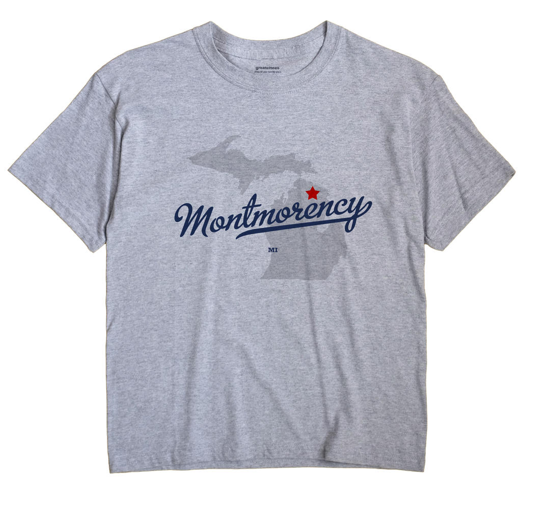 Montmorency, Michigan MI Souvenir Shirt
