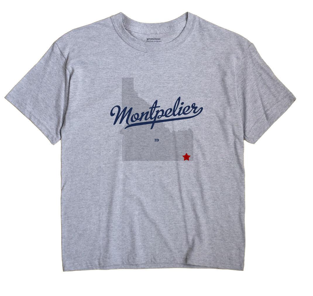 Montpelier, Idaho ID Souvenir Shirt
