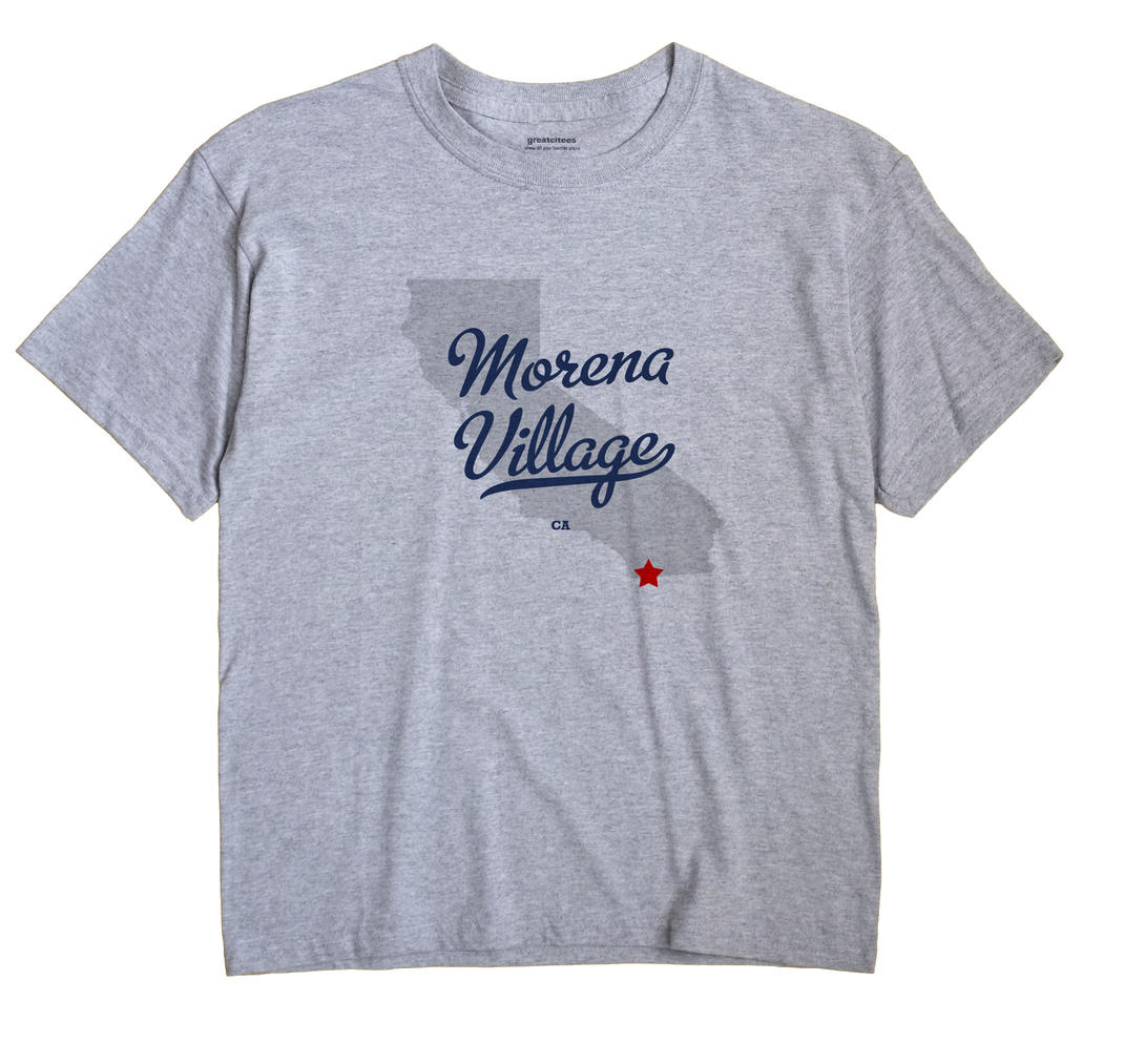 Morena Village, California CA Souvenir Shirt