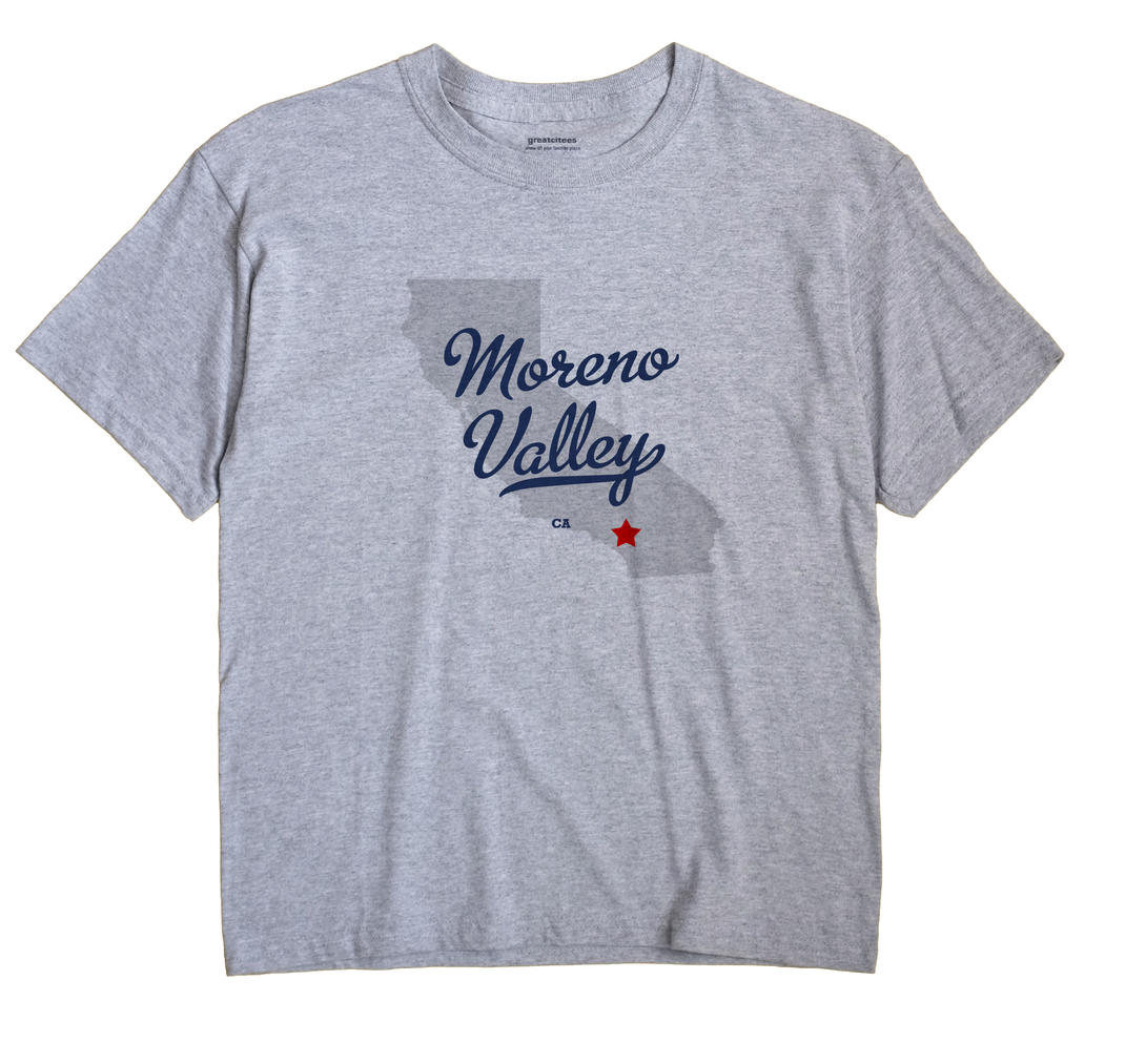 Moreno Valley, California CA Souvenir Shirt