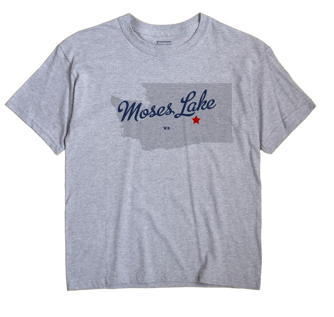 Moses Lake, Washington WA Souvenir Shirt