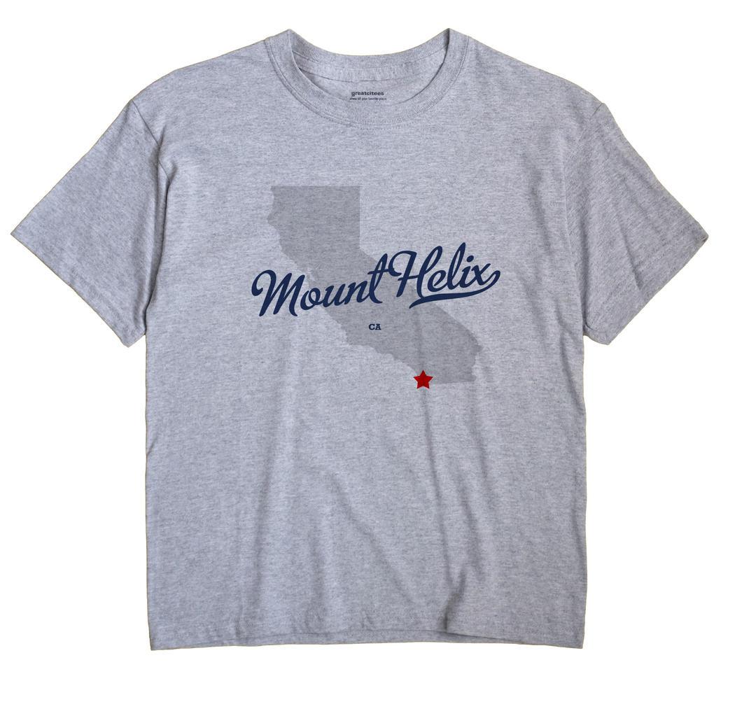 Mount Helix, California CA Souvenir Shirt
