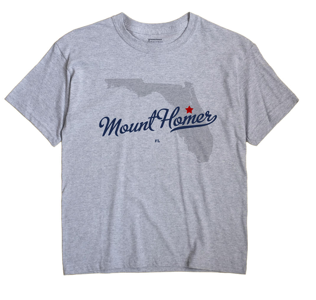 Mount Homer, Florida FL Souvenir Shirt