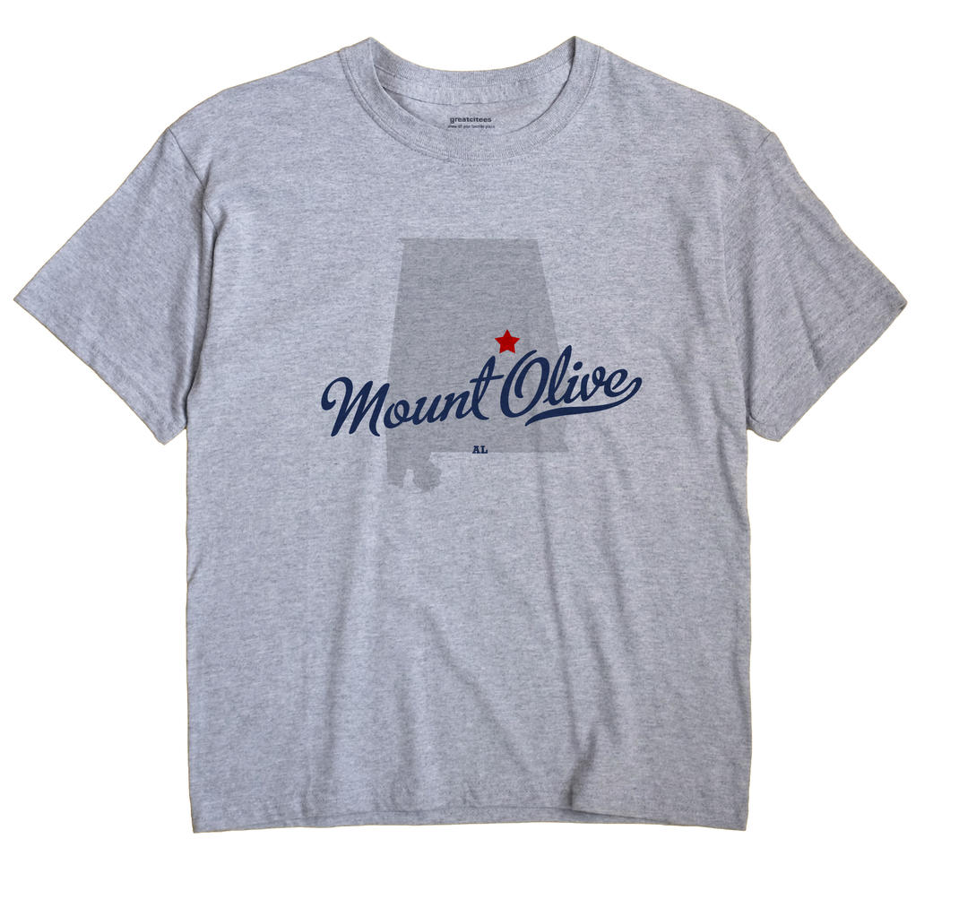 Mount Olive, Coosa County, Alabama AL Souvenir Shirt