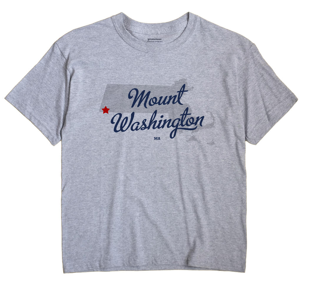 Mount Washington, Massachusetts MA Souvenir Shirt