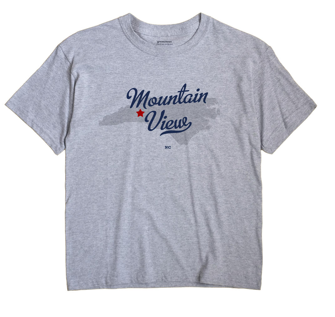 Mountain View, Catawba County, North Carolina NC Souvenir Shirt
