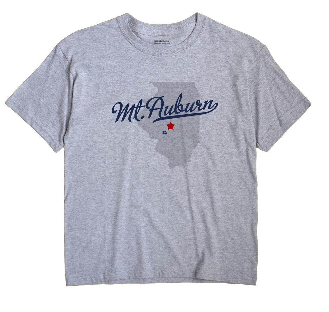 Mt.Auburn, Illinois IL Souvenir Shirt
