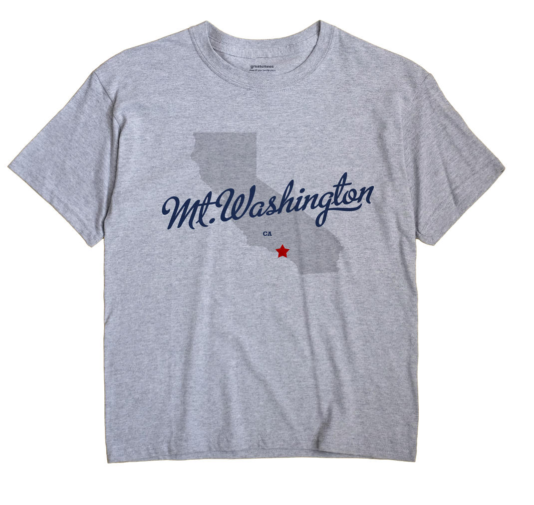 Mt.Washington, California CA Souvenir Shirt