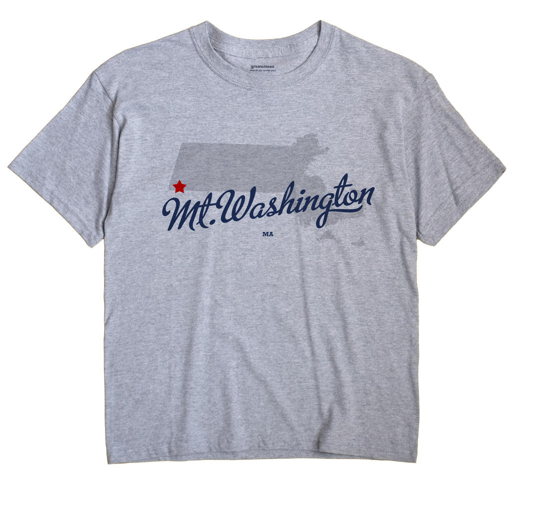 Mt.Washington, Massachusetts MA Souvenir Shirt