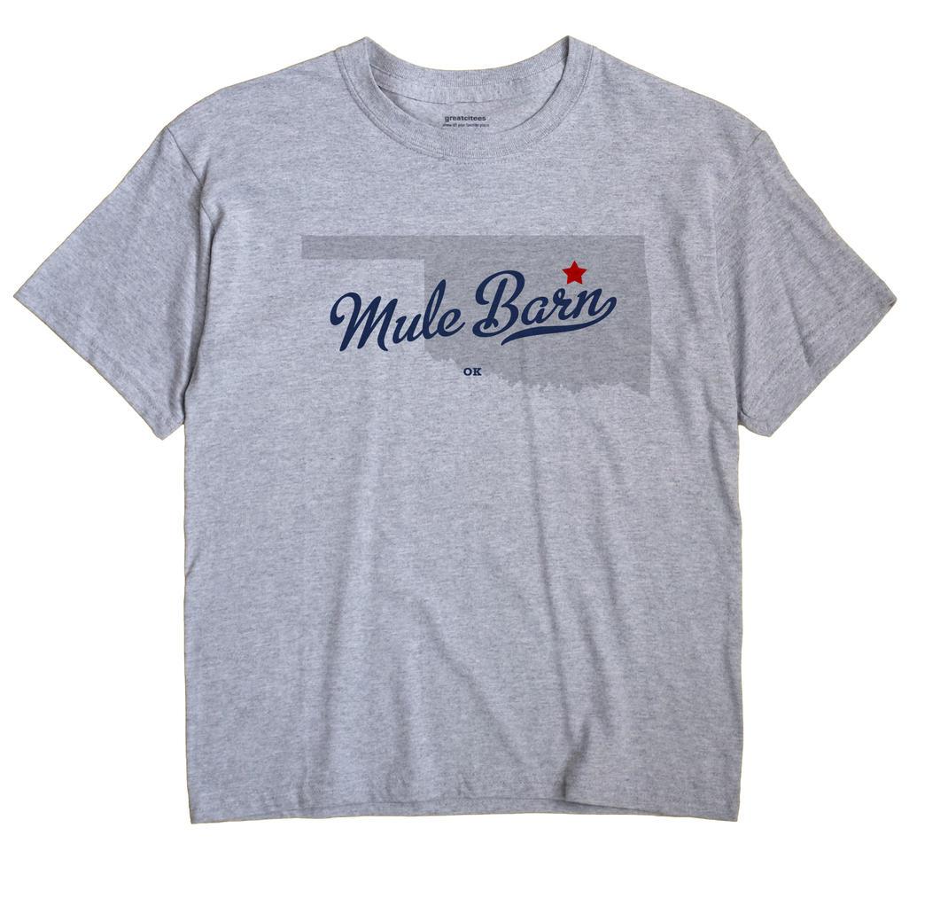 Mule Barn, Oklahoma OK Souvenir Shirt