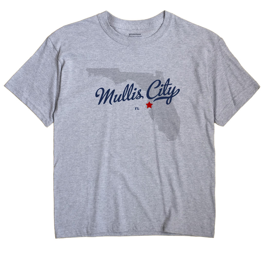 Mullis City, Florida FL Souvenir Shirt