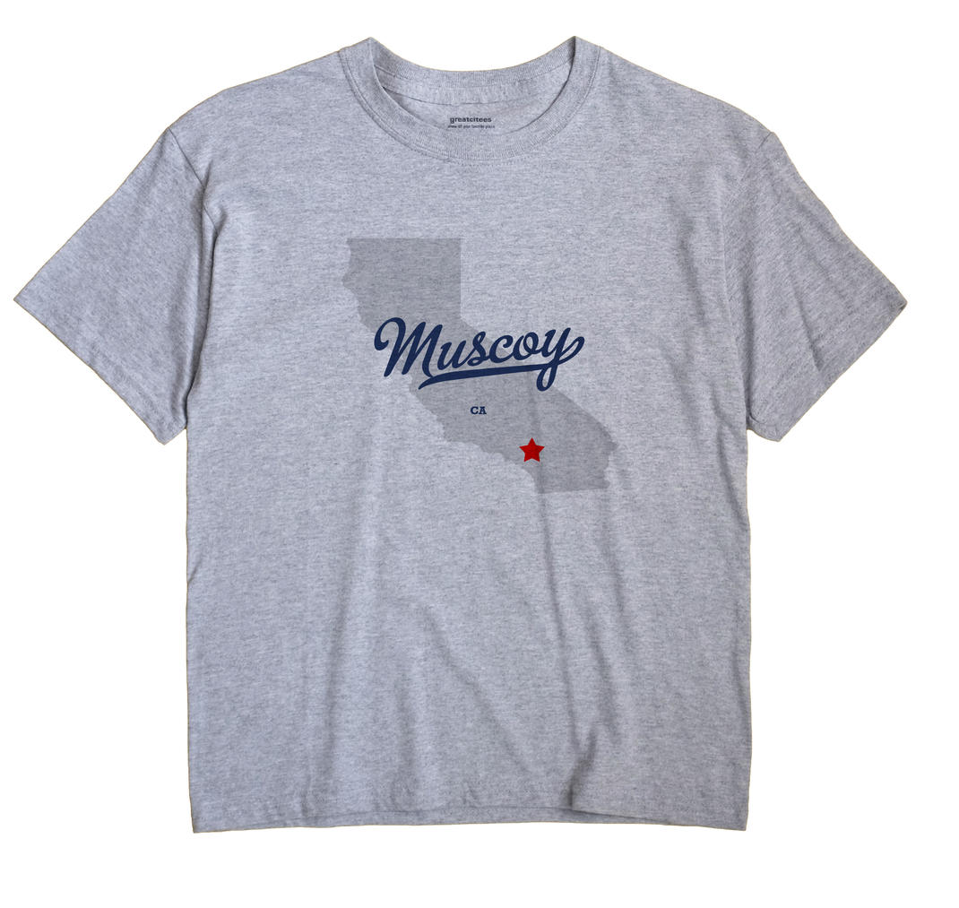 Muscoy California CA T Shirt METRO WHITE Hometown Souvenir