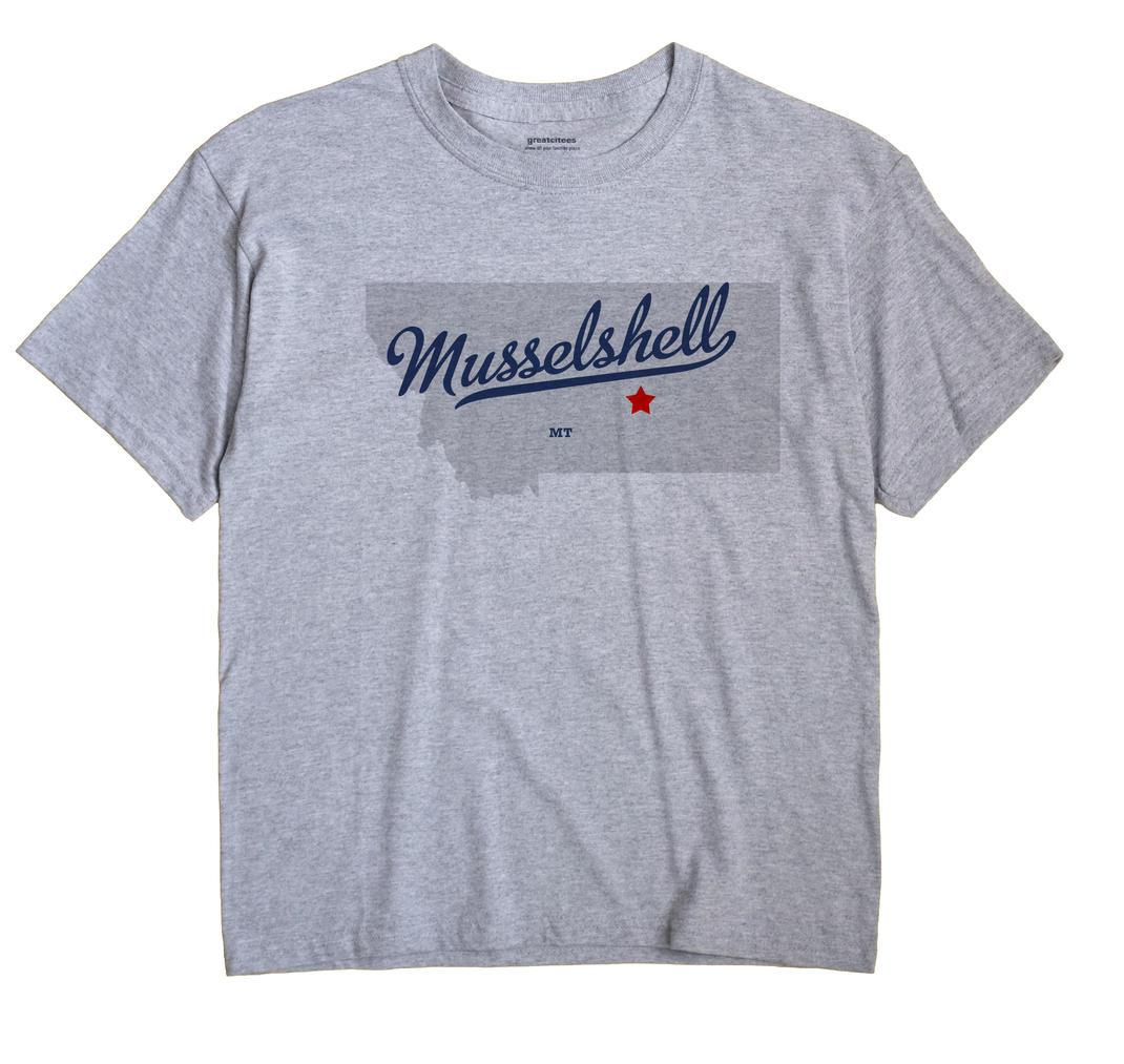 Musselshell, Montana MT Souvenir Shirt