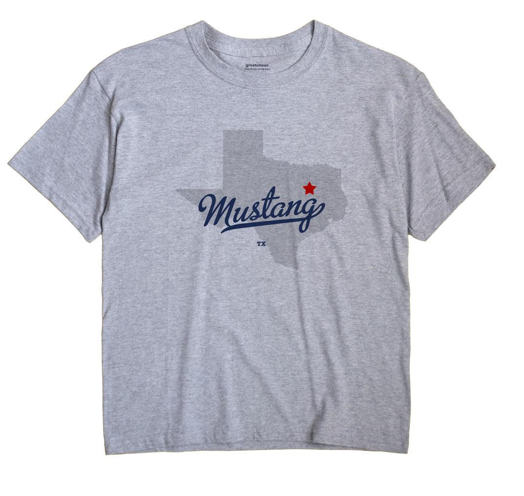 Mustang, Navarro County, Texas TX Souvenir Shirt