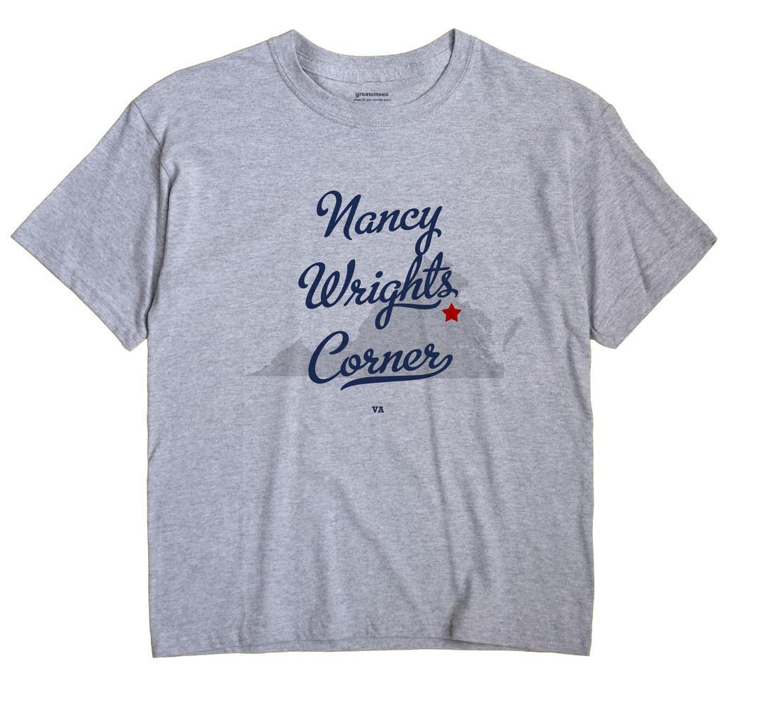 Nancy Wrights Corner, Virginia VA Souvenir Shirt