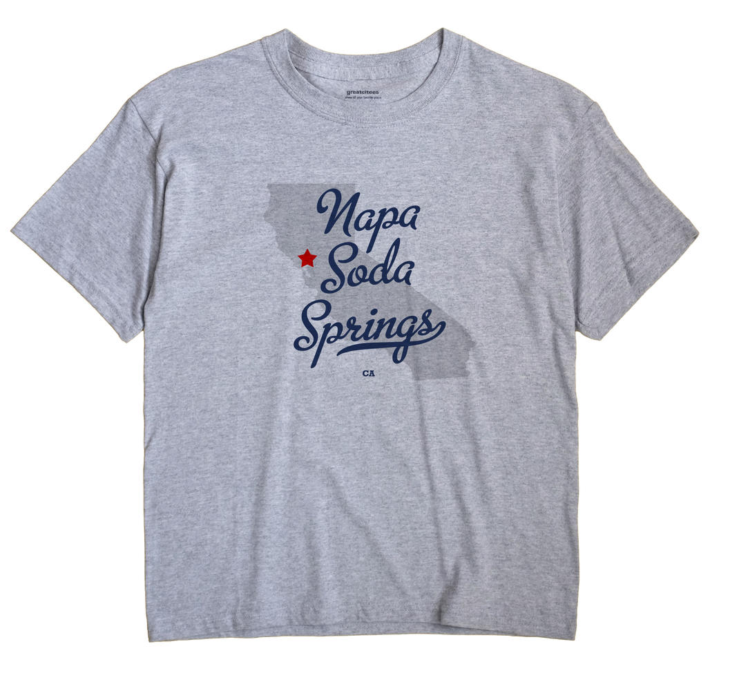 Napa Soda Springs, California CA Souvenir Shirt