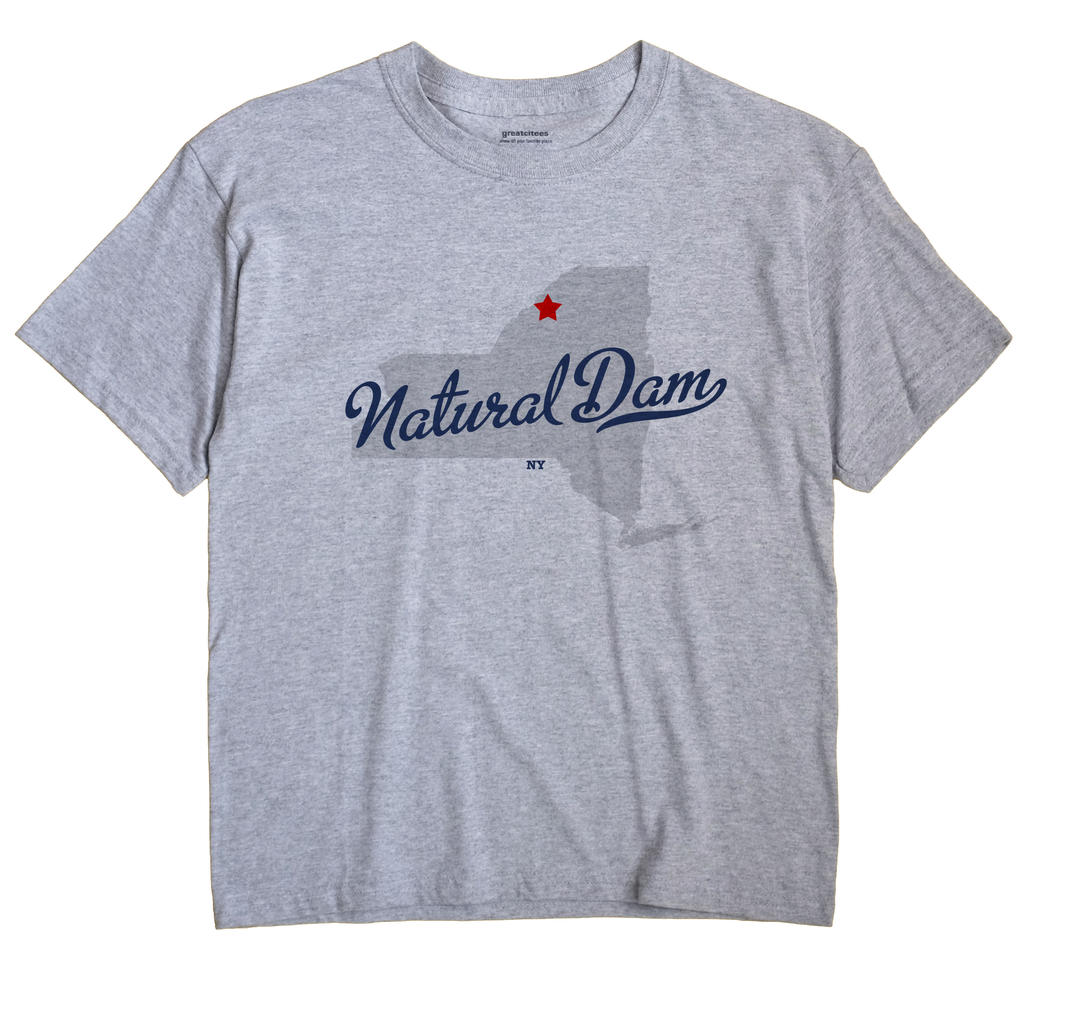 Natural Dam, New York NY Souvenir Shirt