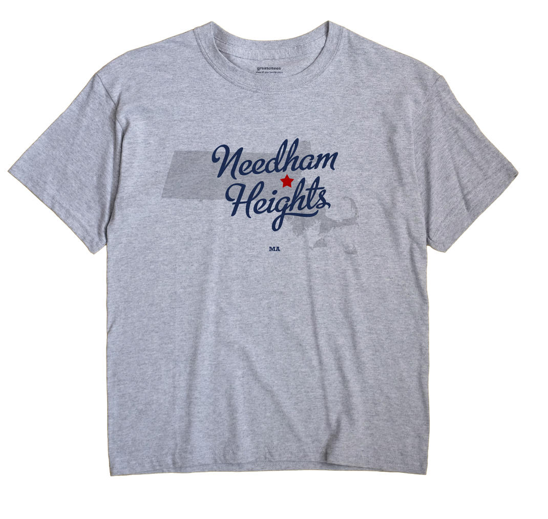 Needham Heights, Massachusetts MA Souvenir Shirt