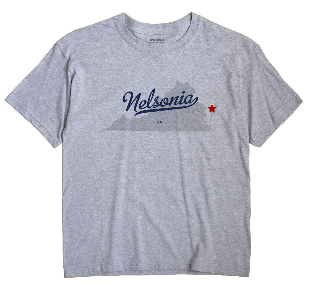Nelsonia, Virginia VA Souvenir Shirt