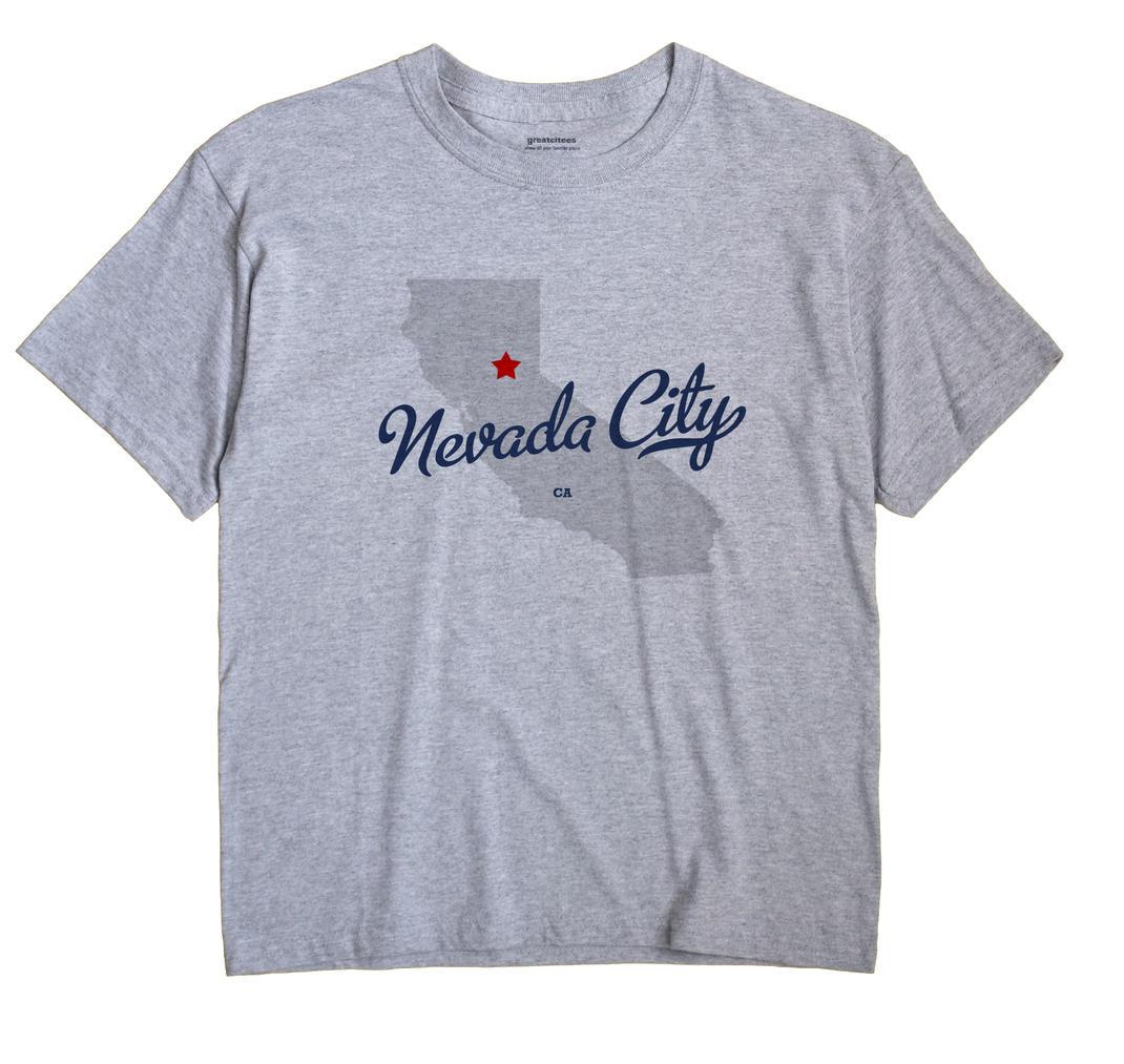 Nevada City, California CA Souvenir Shirt