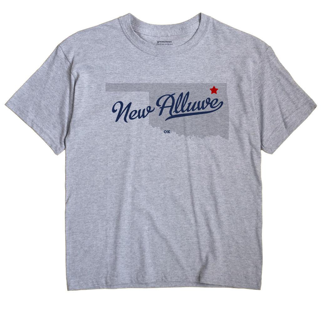 New Alluwe, Oklahoma OK Souvenir Shirt
