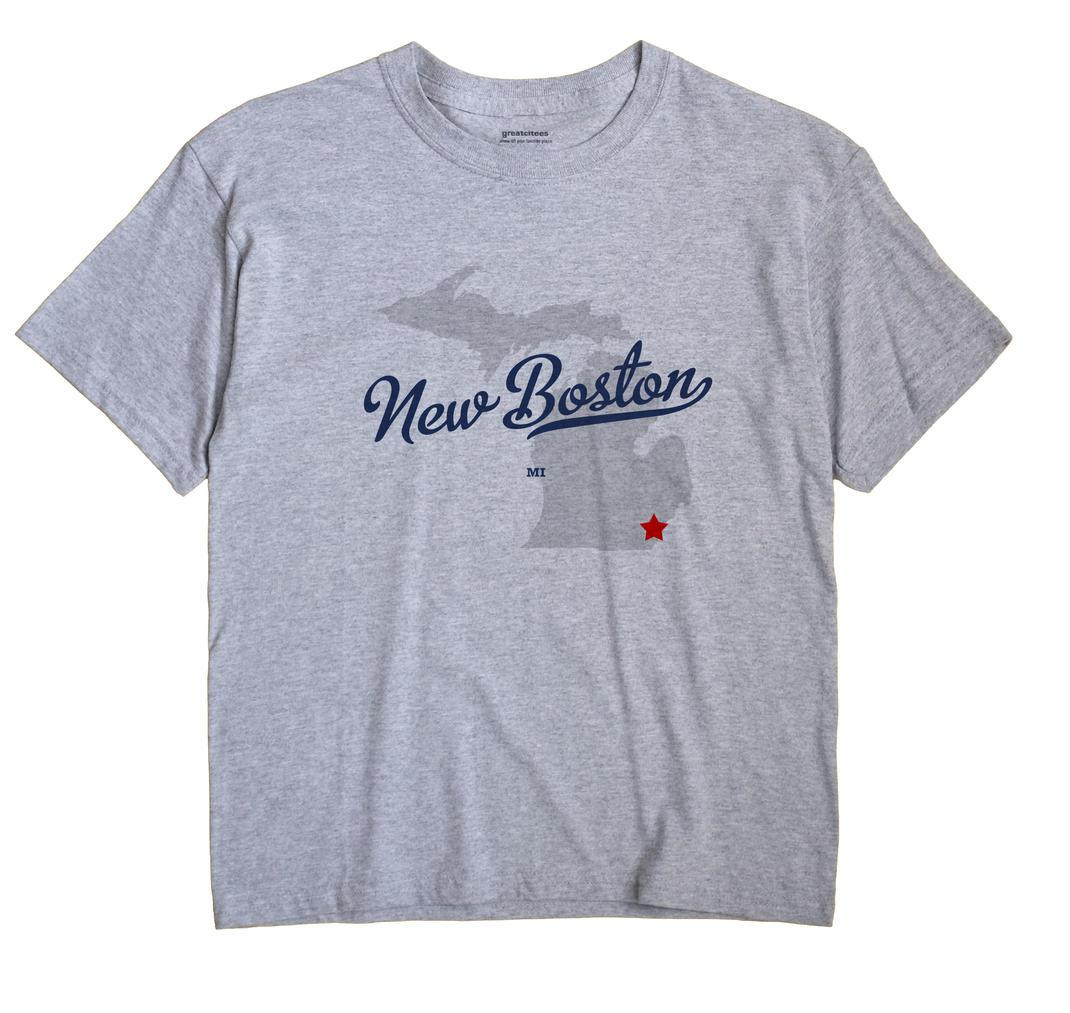 New Boston, Michigan MI Souvenir Shirt