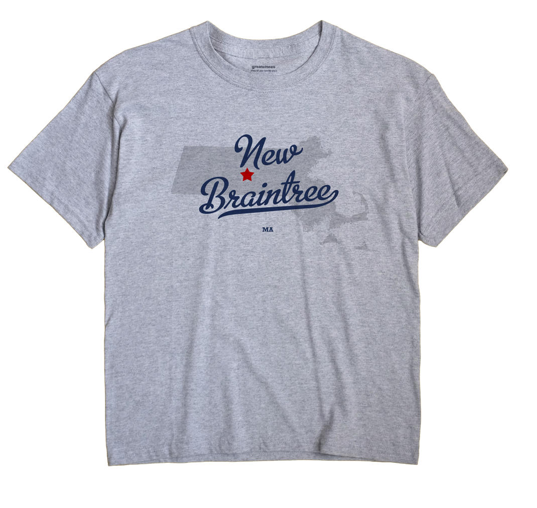 New Braintree, Massachusetts MA Souvenir Shirt