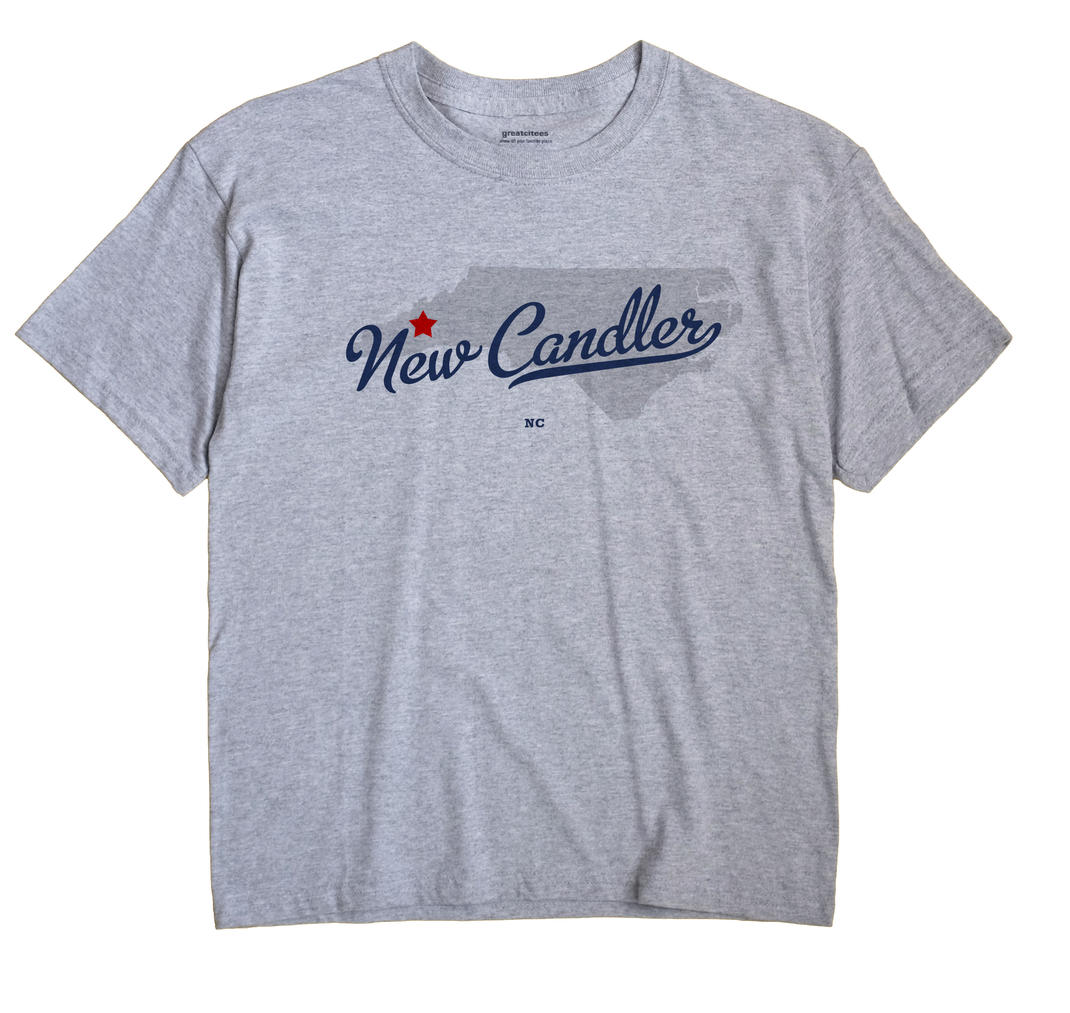New Candler, North Carolina NC Souvenir Shirt