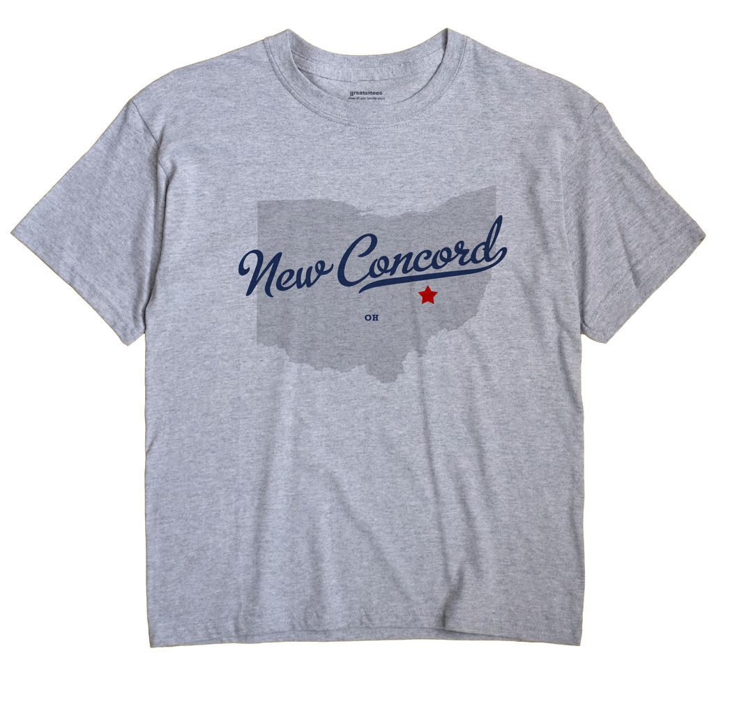 New Concord, Ohio OH Souvenir Shirt