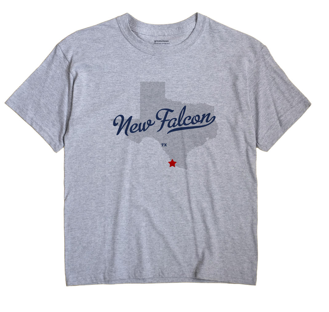New Falcon, Texas TX Souvenir Shirt