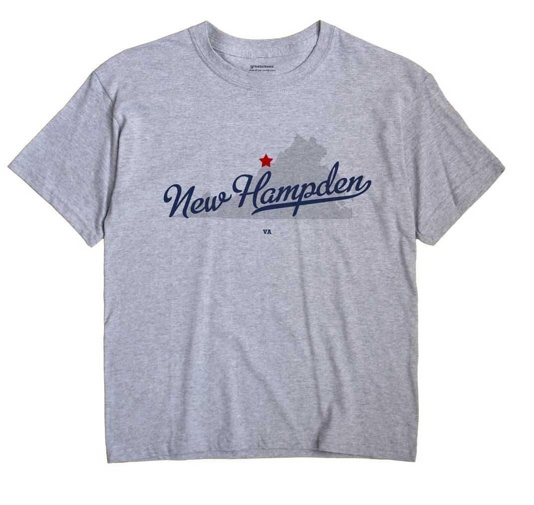 New Hampden, Virginia VA Souvenir Shirt
