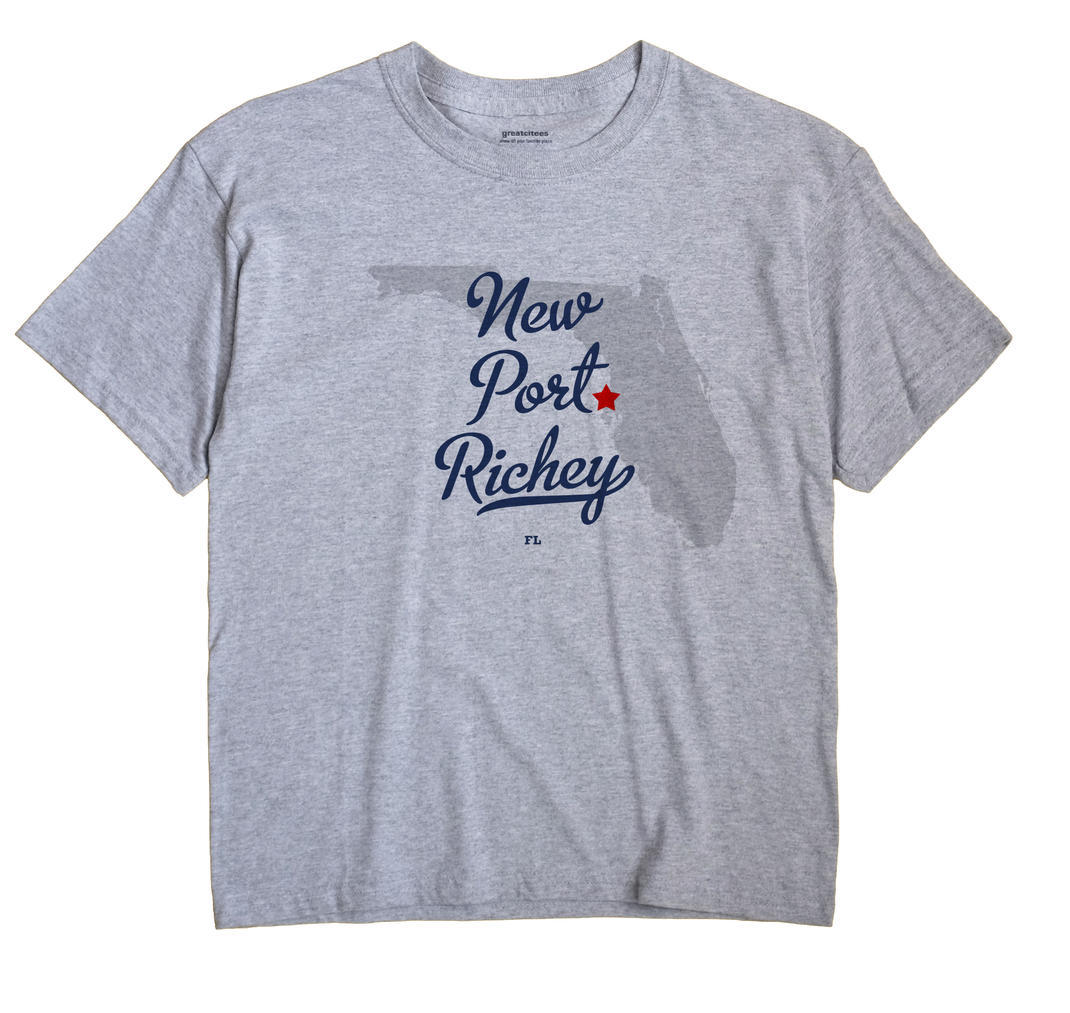 New Port Richey, Florida FL Souvenir Shirt