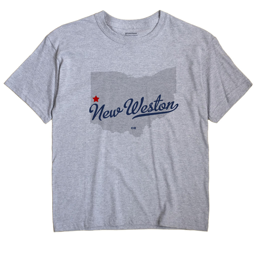 New Weston, Ohio OH Souvenir Shirt