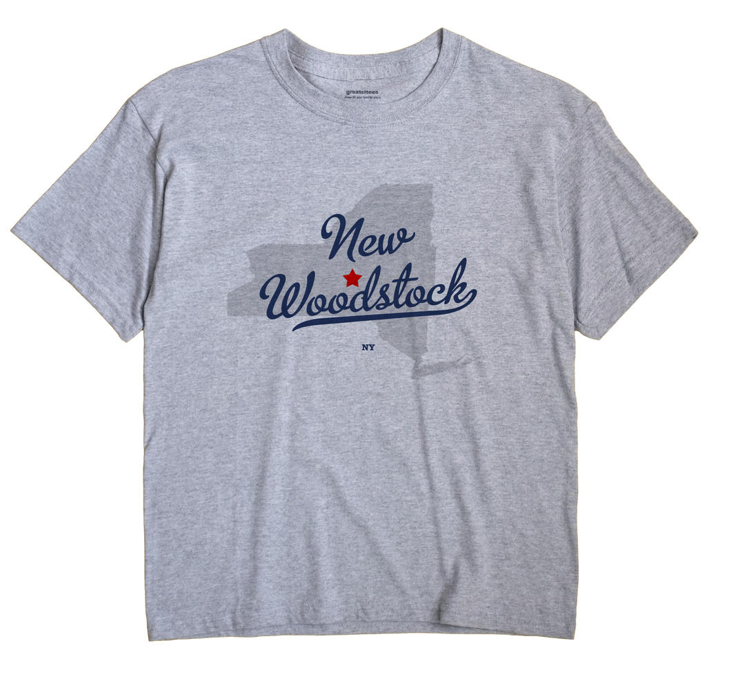 New Woodstock, New York NY Souvenir Shirt