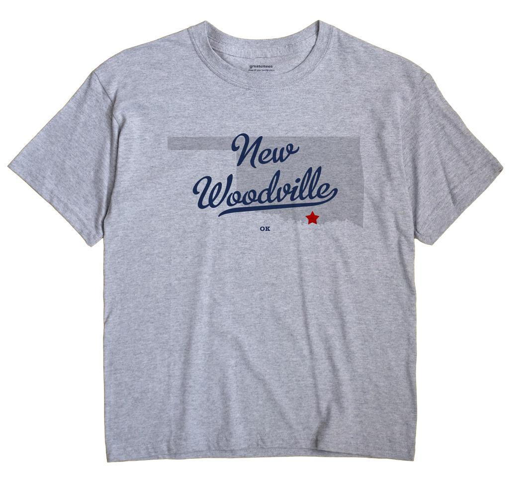New Woodville, Oklahoma OK Souvenir Shirt