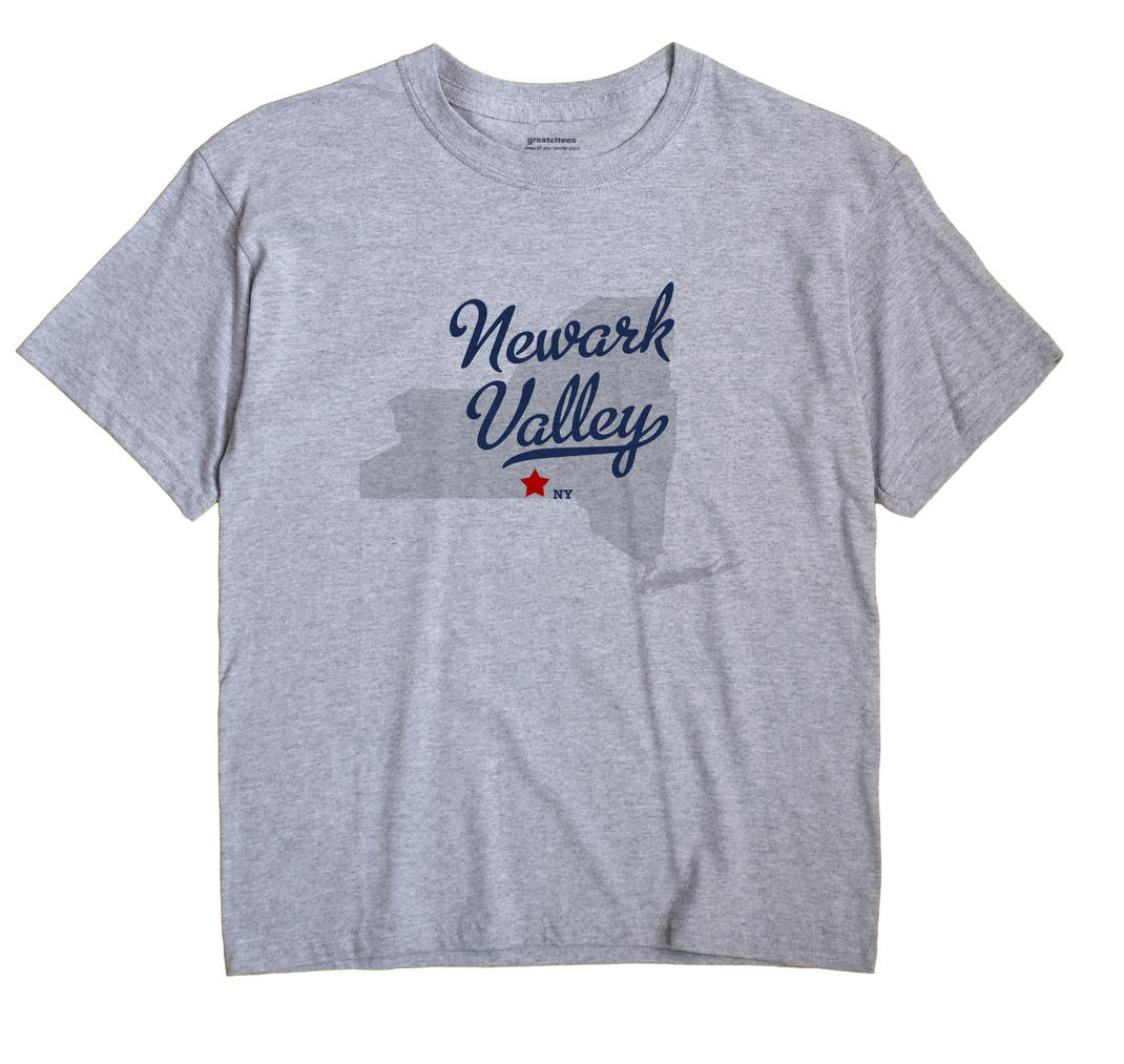 Newark Valley, New York NY Souvenir Shirt