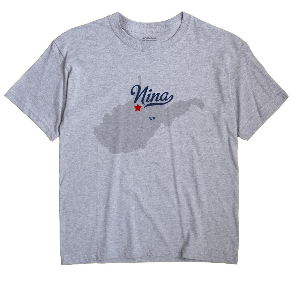Nina, West Virginia WV Souvenir Shirt
