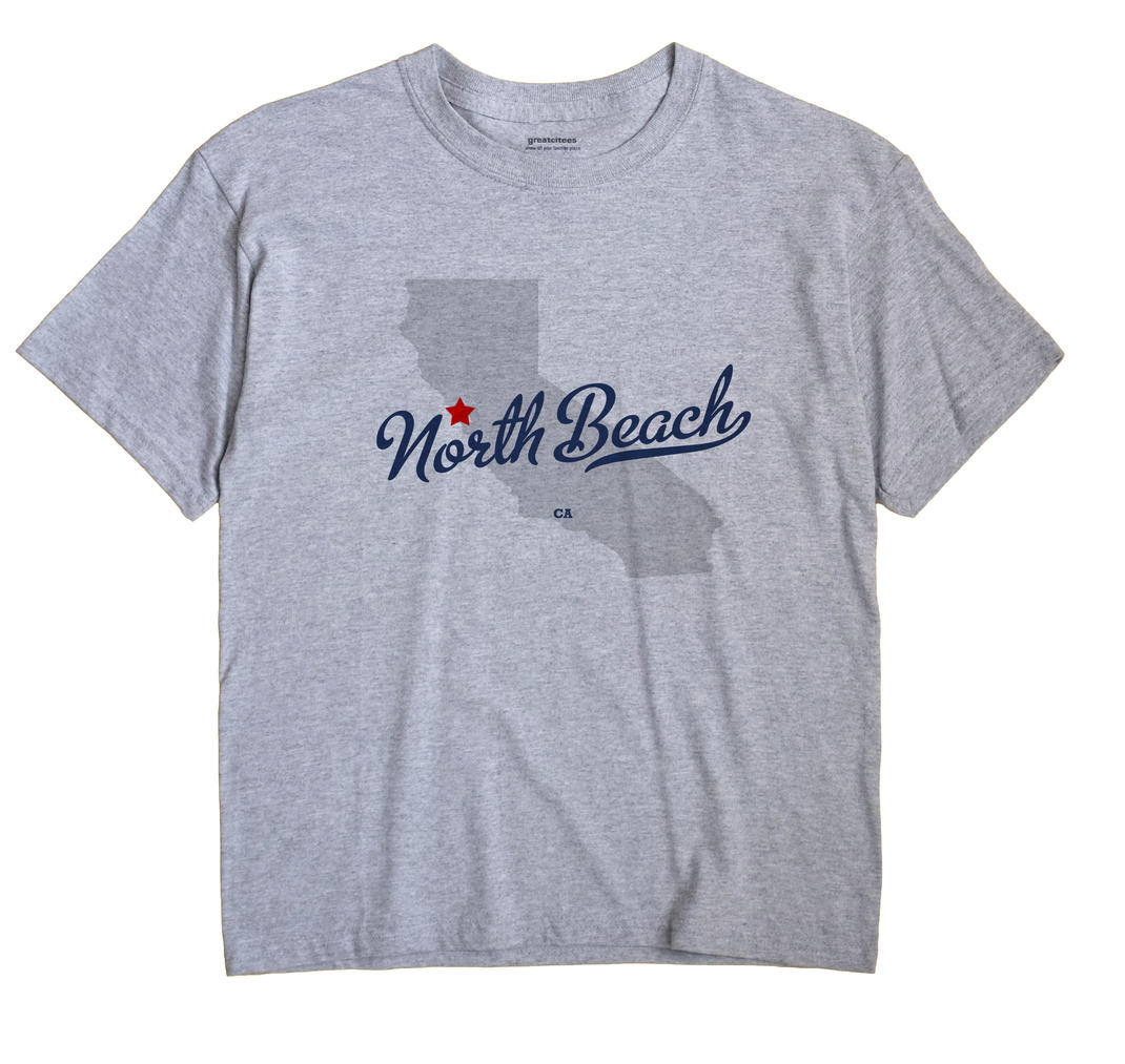North Beach, California CA Souvenir Shirt