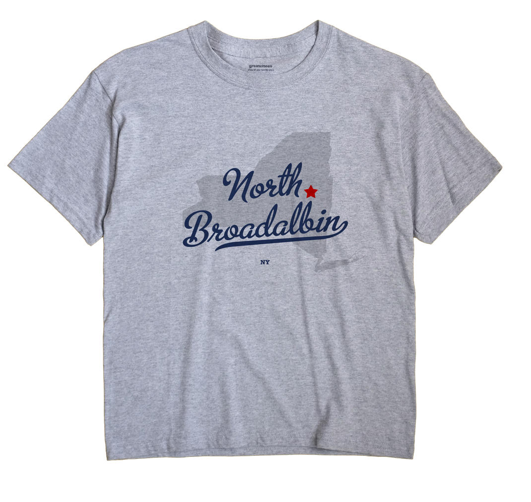 North Broadalbin, New York NY Souvenir Shirt