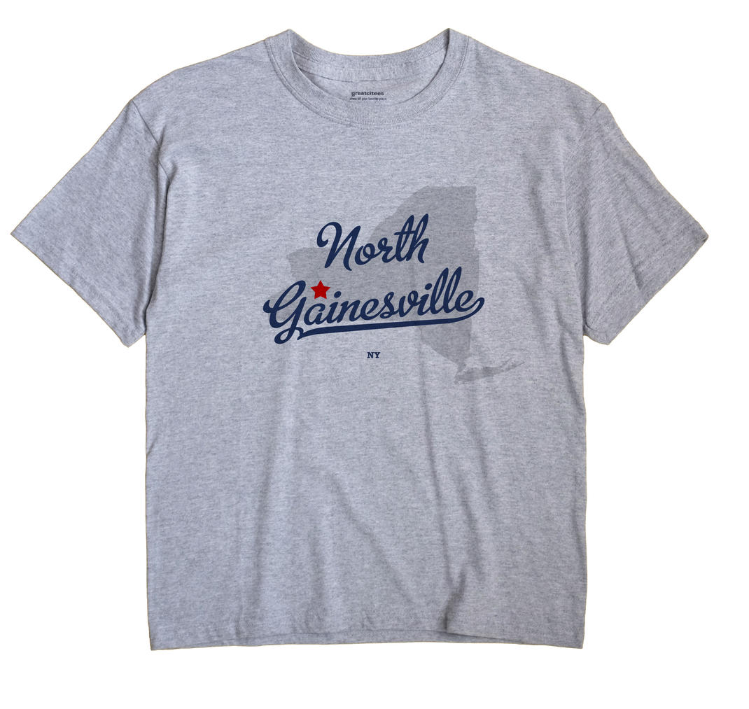North Gainesville, New York NY Souvenir Shirt