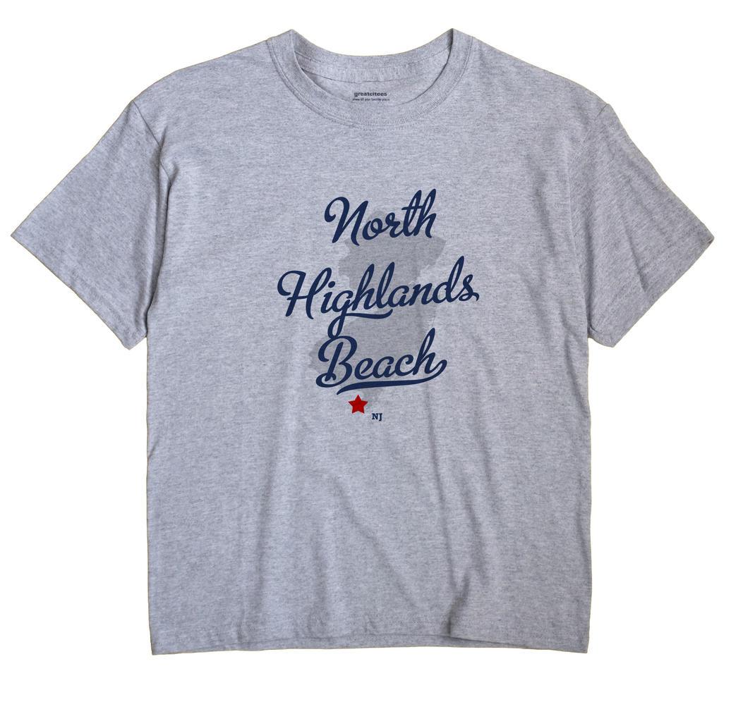 North Highlands Beach, New Jersey NJ Souvenir Shirt