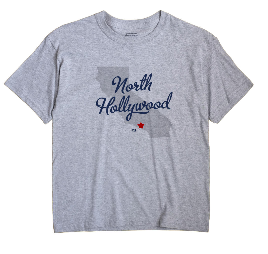 North Hollywood, California CA Souvenir Shirt