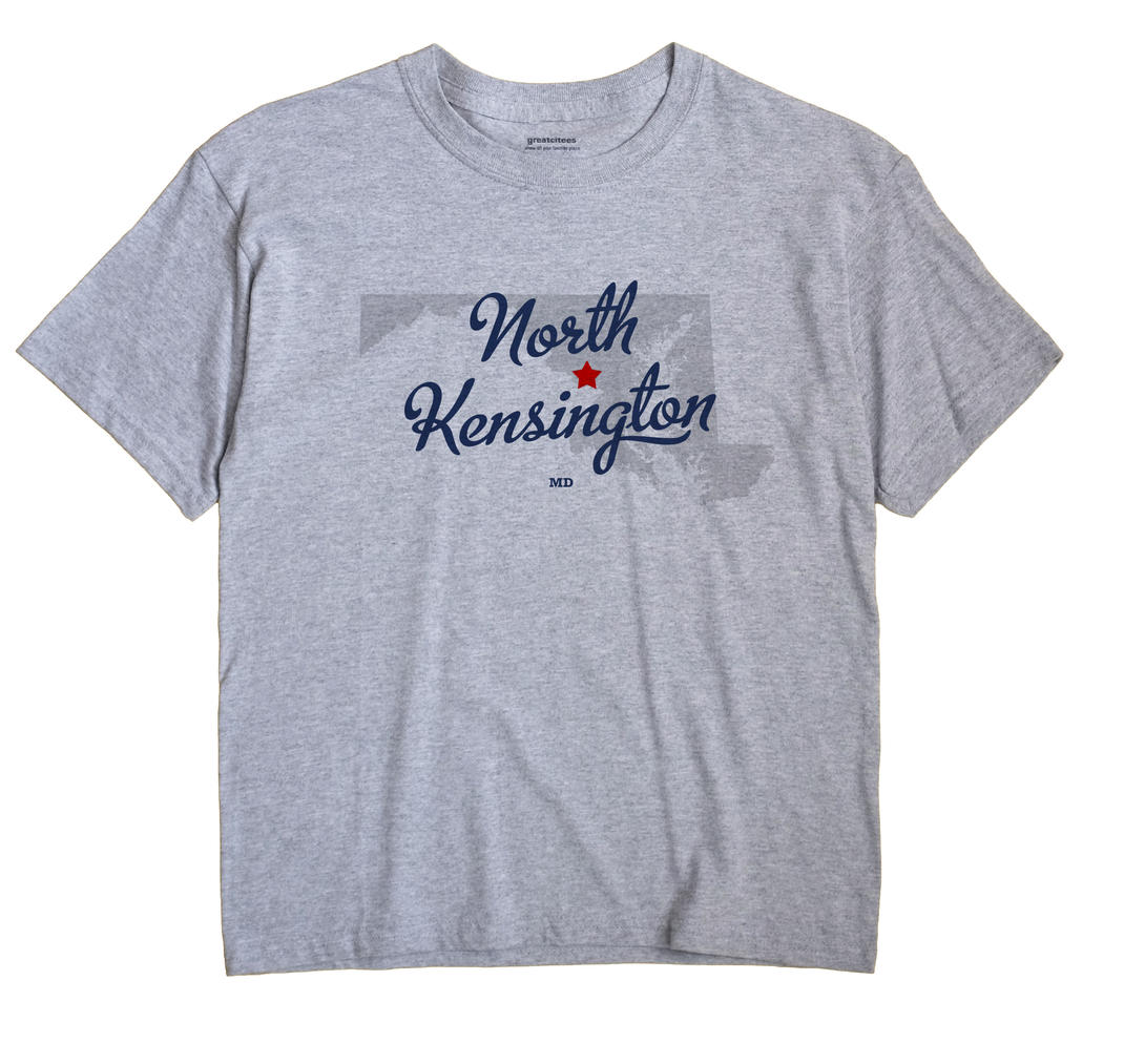 North Kensington, Maryland MD Souvenir Shirt