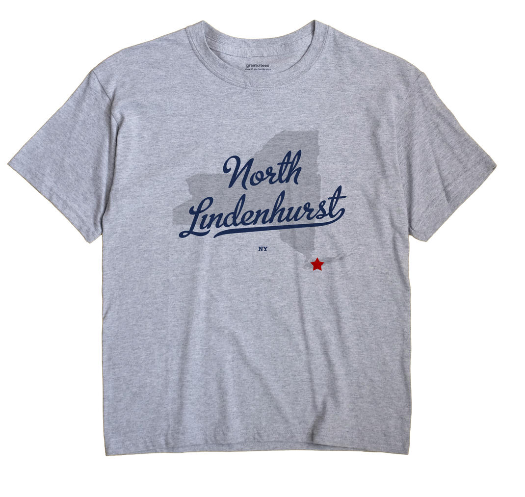 North Lindenhurst, New York NY Souvenir Shirt