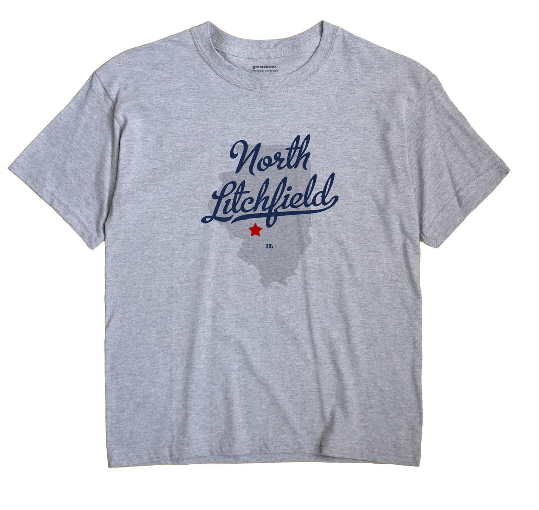 North Litchfield, Illinois IL Souvenir Shirt