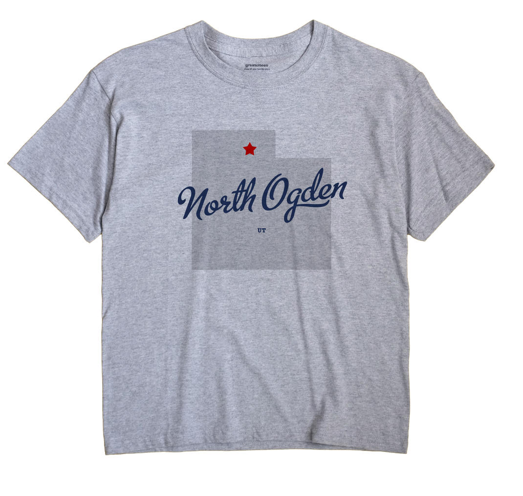 North Ogden, Utah UT Souvenir Shirt