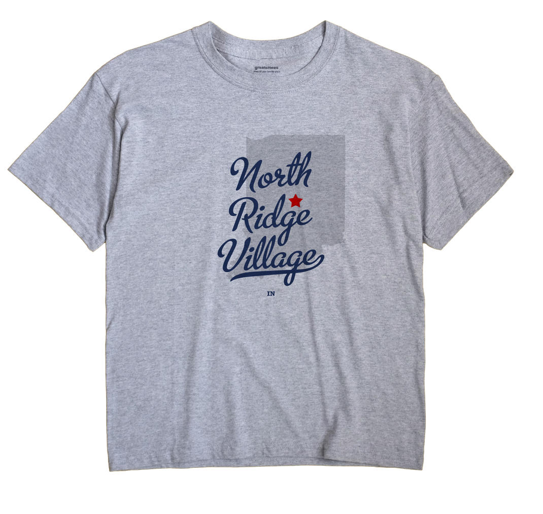 North Ridge Village, Indiana IN Souvenir Shirt