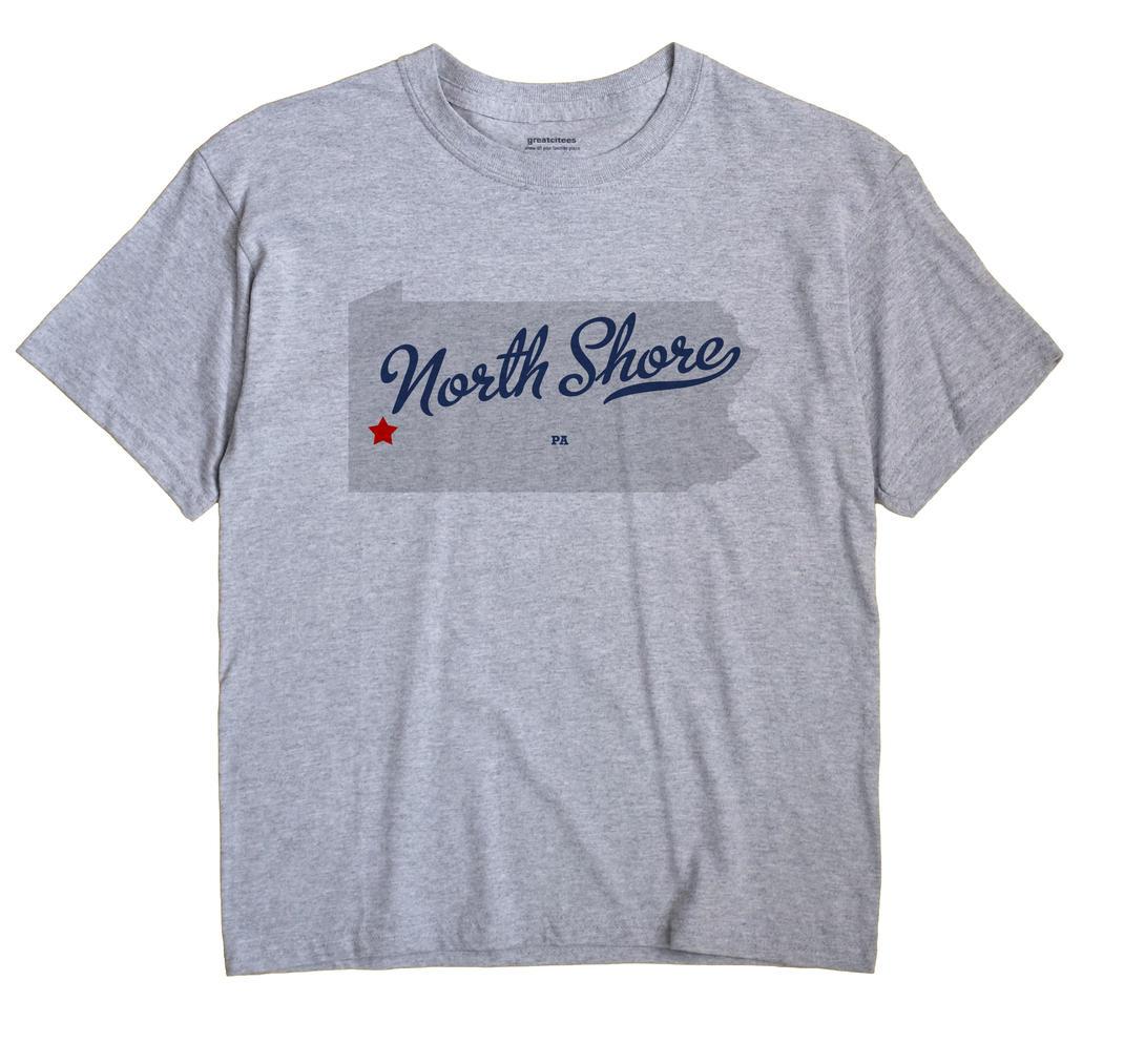 North Shore, Pennsylvania PA Souvenir Shirt