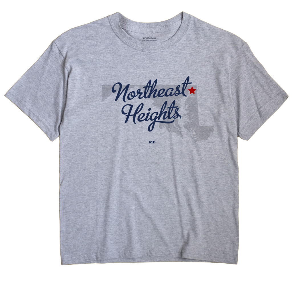 Northeast Heights, Maryland MD Souvenir Shirt